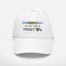 I Like My Ferret Baseball Baseball Cap