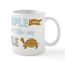 I Like My Turtle Mug