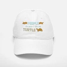 I Like My Turtle Baseball Baseball Cap