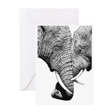 African Elephants iPad Mini Greeting Card