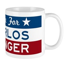 Vote For Carlos Danger Coffee Mug