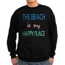 The Beach Is My Happy Place Sweatshirt