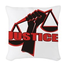 Justice Woven Throw Pillow