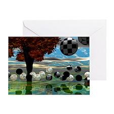 Crystal Garden 35x21 Wall Peel-7700h Greeting Card
