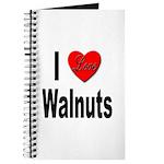 I Love Walnuts Journal