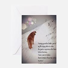 Peace Dog Greeting Card