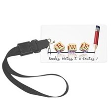 Reading, Writing, It's Exciting  Luggage Tag