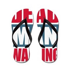 Dead Man Walking Flip Flops