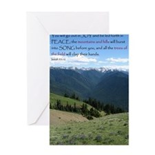 Isaiah 55 Greeting Card
