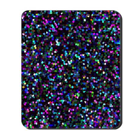 Mosaic Glitter 1 Mousepad