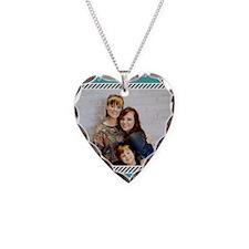 211-blue Necklace