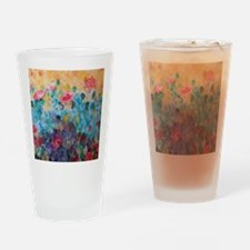 Flowers Everywhere Drinking Glass