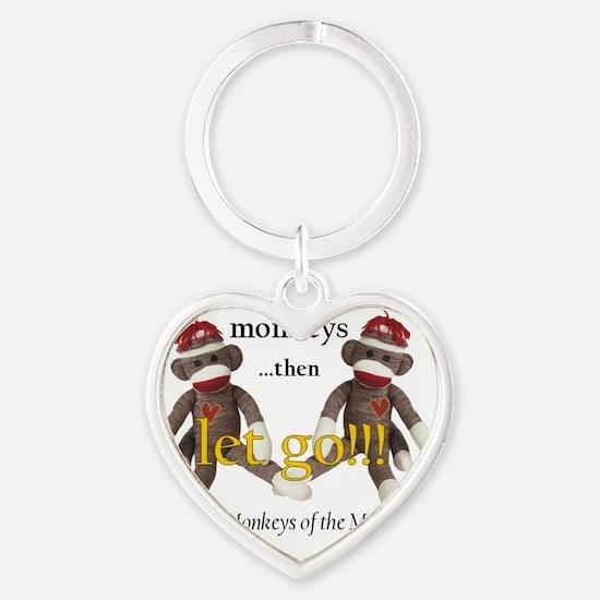 sockmonkey_roundpkr Heart Keychain