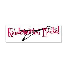 Kindergarten Rocks Car Magnet 10 x 3