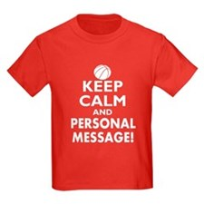 Personalized Keep Calm Basketball T