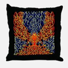 Celtic Phoenix Throw Pillow