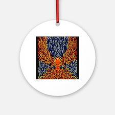 Celtic Phoenix Round Ornament