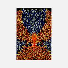 Celtic Phoenix Rectangle Magnet