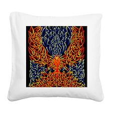 Celtic Phoenix Square Canvas Pillow