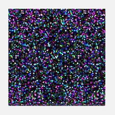Mosaic Glitter 1 Tile Coaster