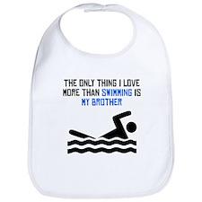 Swimming Brother Bib