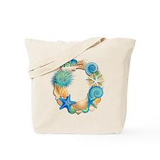 Beach Theme Initial O Tote Bag