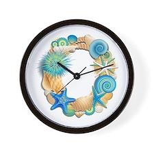 Beach Theme Initial O Wall Clock