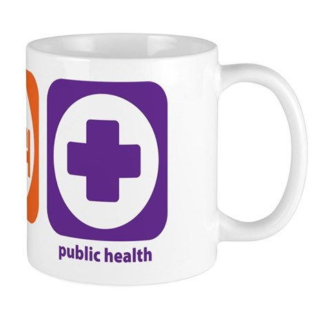 Eat Sleep Public Health Mug