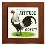 Got Attitude? Framed Tile