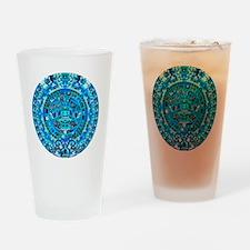 Ancient Mayan Calendar Drinking Glass