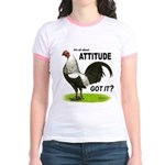 Got Attitude? Jr. Ringer T-Shirt
