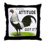Got Attitude? Throw Pillow