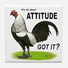 Got Attitude? Tile Coaster