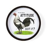 Got Attitude? Wall Clock
