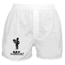 Say Squeeze scribbled design accordio Boxer Shorts