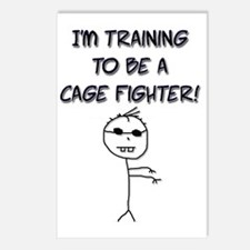I'm Training to be a Cage Postcards (Package of 8)