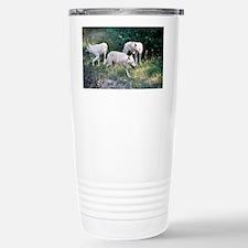 """Arctic  Wolves"" Stainless Steel Travel Mug"