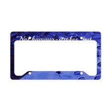 Inspirational Quote - Perseve License Plate Holder