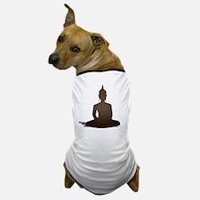 Sitting Wood Buddha Dog T-Shirt