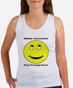 Retired Accountant happy dance Women's Tank Top