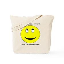 Retired Accountant happy dance Tote Bag