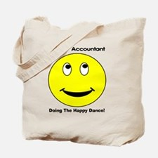 Retired Accountant happy dance Tote Bag