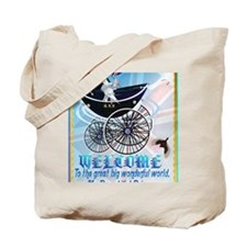 WELCOME-George Alexander Louis-text Tote Bag