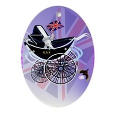WELCOME-George Alexander Louis Oval Ornament