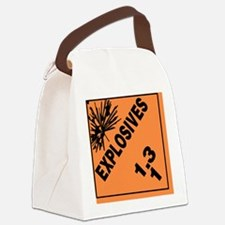 ADR Sticker - 1.3 Explosives Canvas Lunch Bag