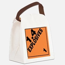ADR Sticker - 1.4 Explosives Canvas Lunch Bag