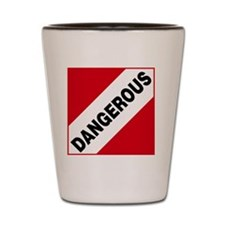 ADR Hazard Sticker - 0 Dangerous Shot Glass