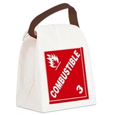 ADR Sticker - 3 Combustible Canvas Lunch Bag