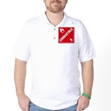 ADR Sticker - 3 Combustible T-Shirt