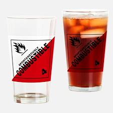 ADR Sticker - 4 Spontaneously Combu Drinking Glass